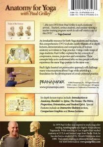 DVD Anatomy for Yoga Paul Grilley