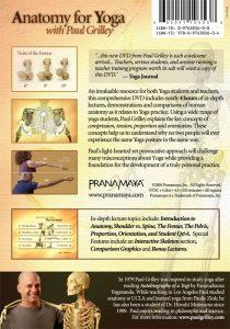 DVD Anatomy for Yoga Paul Grilley